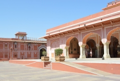 The City Palace courtyard