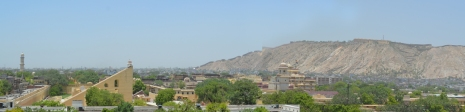 View of Jaipur from Hawa Mahal (Windy Palace)