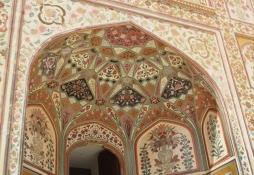 Amer Fort fresco