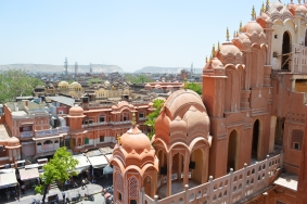Hawa Mahal from the inside out