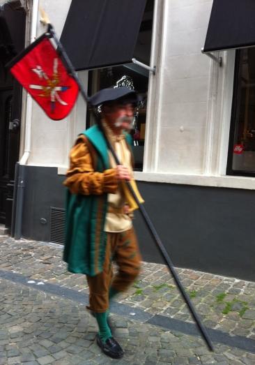 A flagbearer