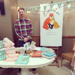Zac at our Busy Hands  2014 craft sale booth